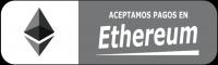 Aceptamos Ethereum